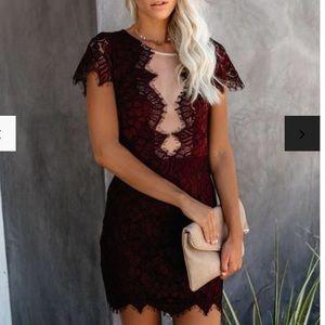 VICI Lace Mini Dress